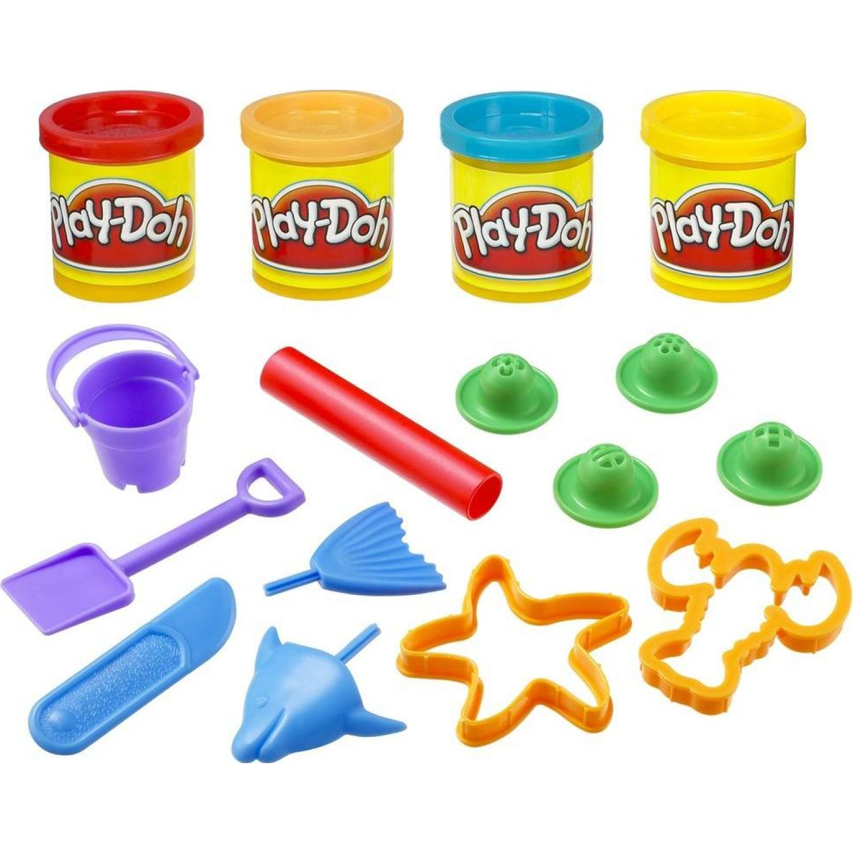 PLAY-DOH PD MINI SUMMER BUCKET Varios Palitos para moldear y esculturas