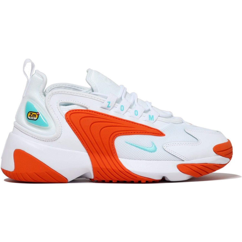 Nike wmns nike zoom 2k Blanco / naranja Walking