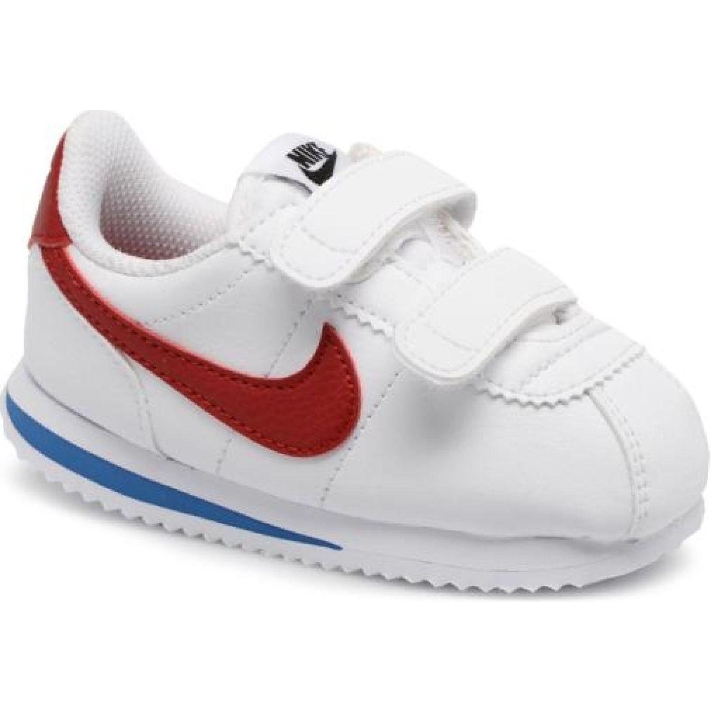 Nike nike cortez basic sl Blanco / rojo Walking