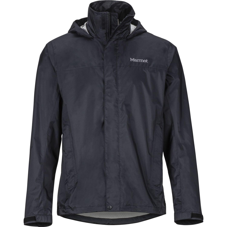 Marmot precip eco jacket Negro Trinchera y Lluvia