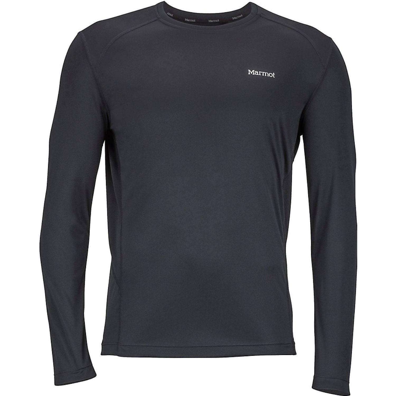Marmot windridge ls Negro Camisetas y Polos Deportivos