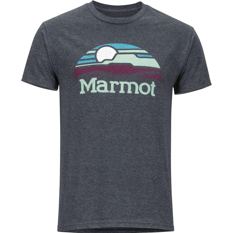 Marmot lunamesa tee ss Gris Camisetas y Polos Deportivos