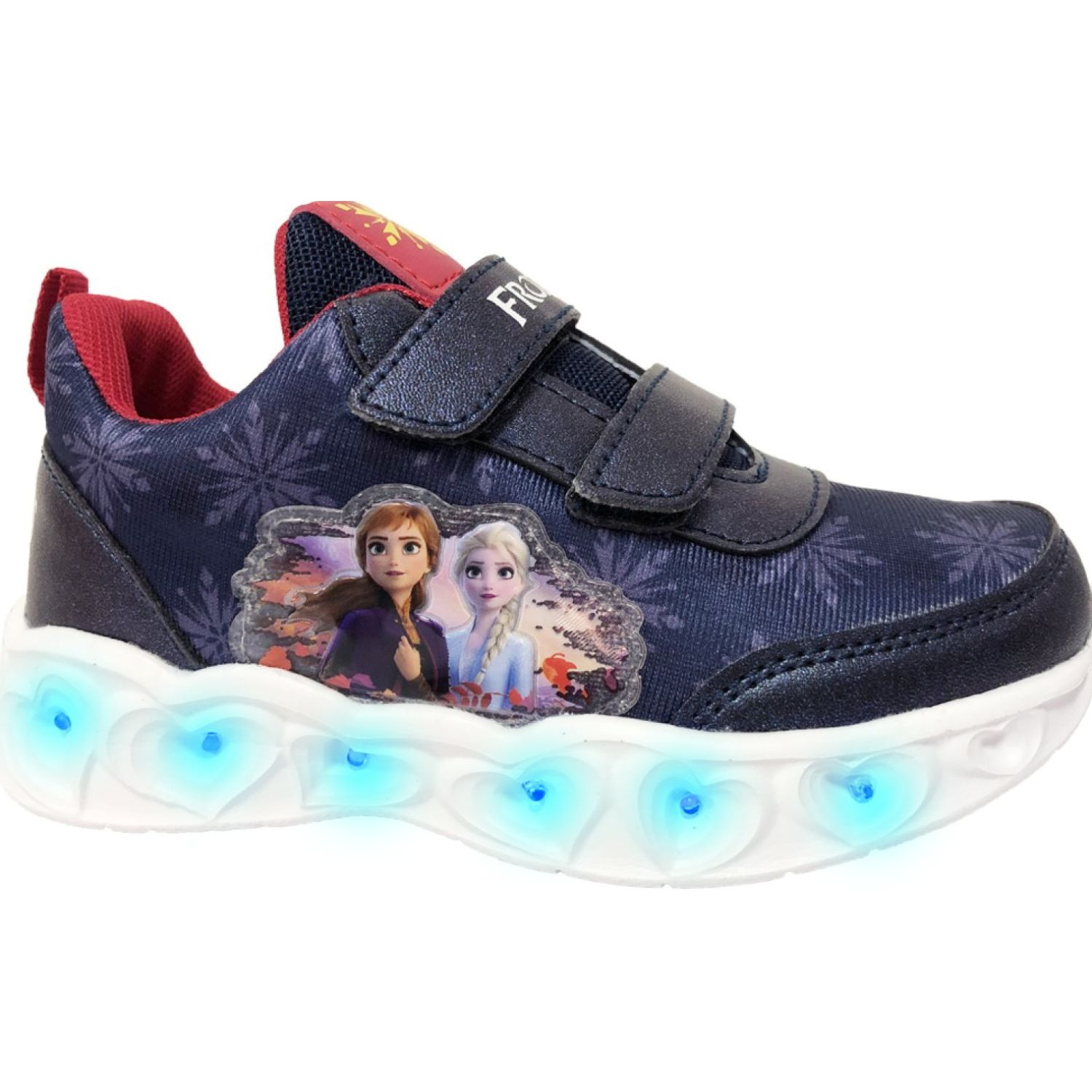 Frozen zapatilla parche frozen ii Navy / Rojo Walking