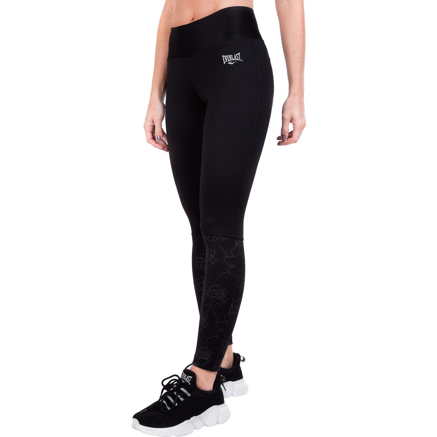 Everlast legging long bee Negro Leggings Deportivos