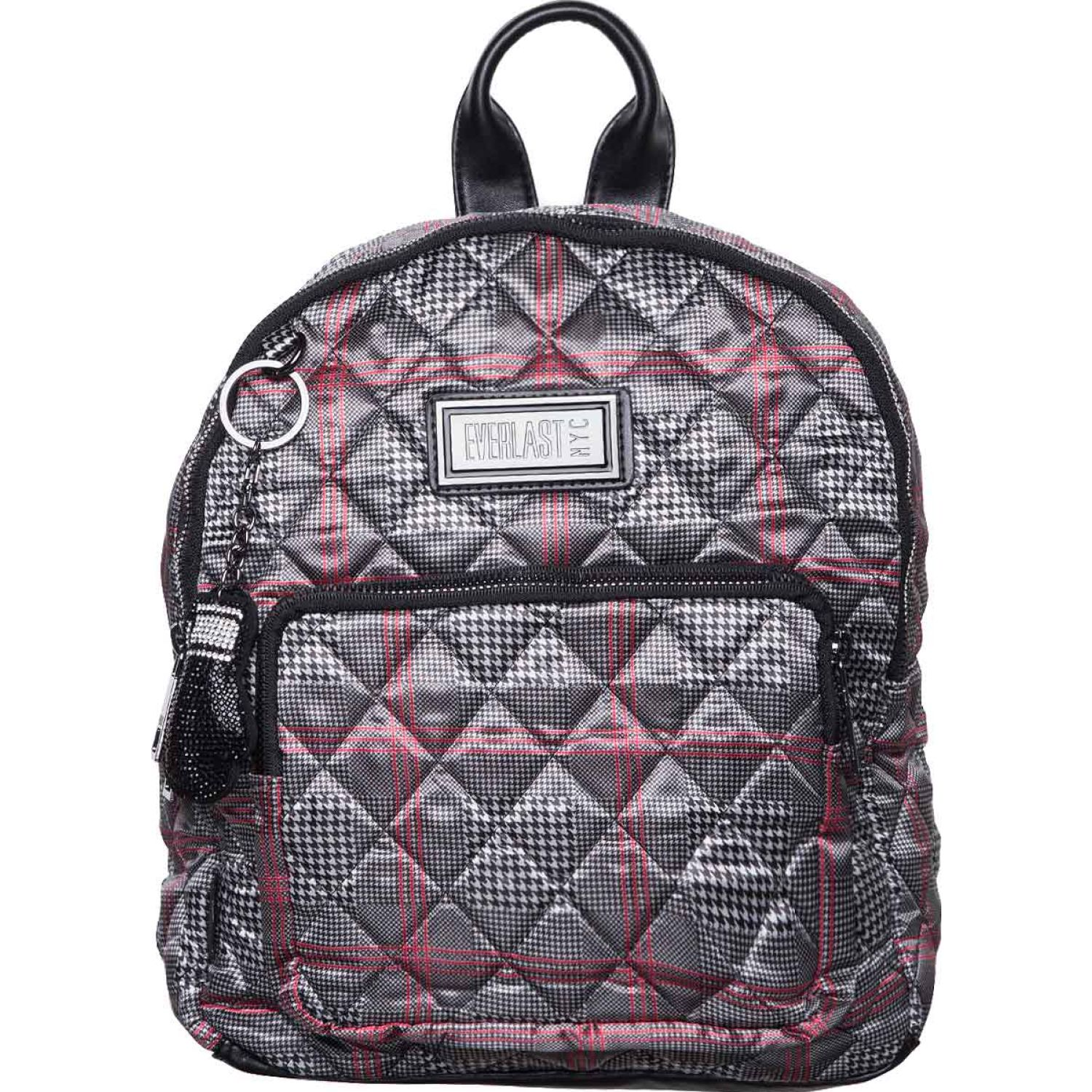 Everlast mochila mini quilted pdg oxford Plomo / rojo Mochilas Fashion
