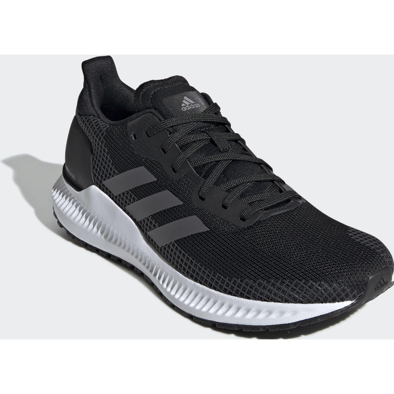 Adidas SOLAR BLAZE W Negro / blanco Running en pista