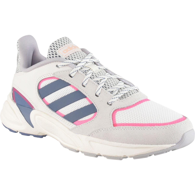 Adidas 90S VALASION Blanco / azul Running en pista