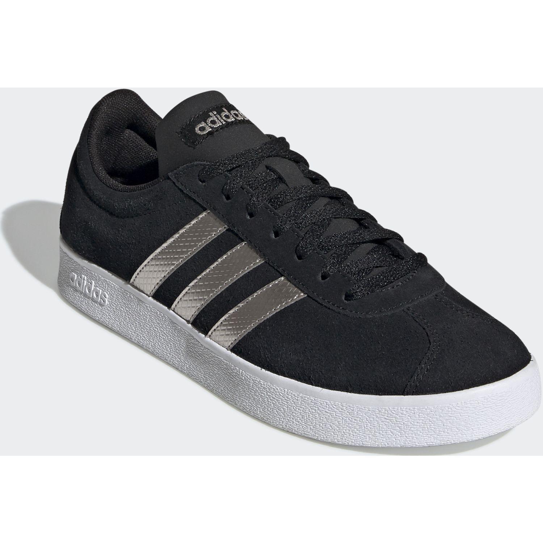 Adidas vl court 2.0 Negro / blanco Mujeres