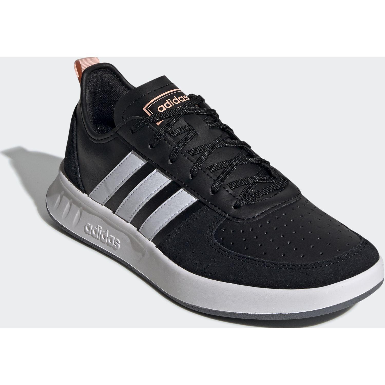 Adidas court80s Negro / blanco Walking