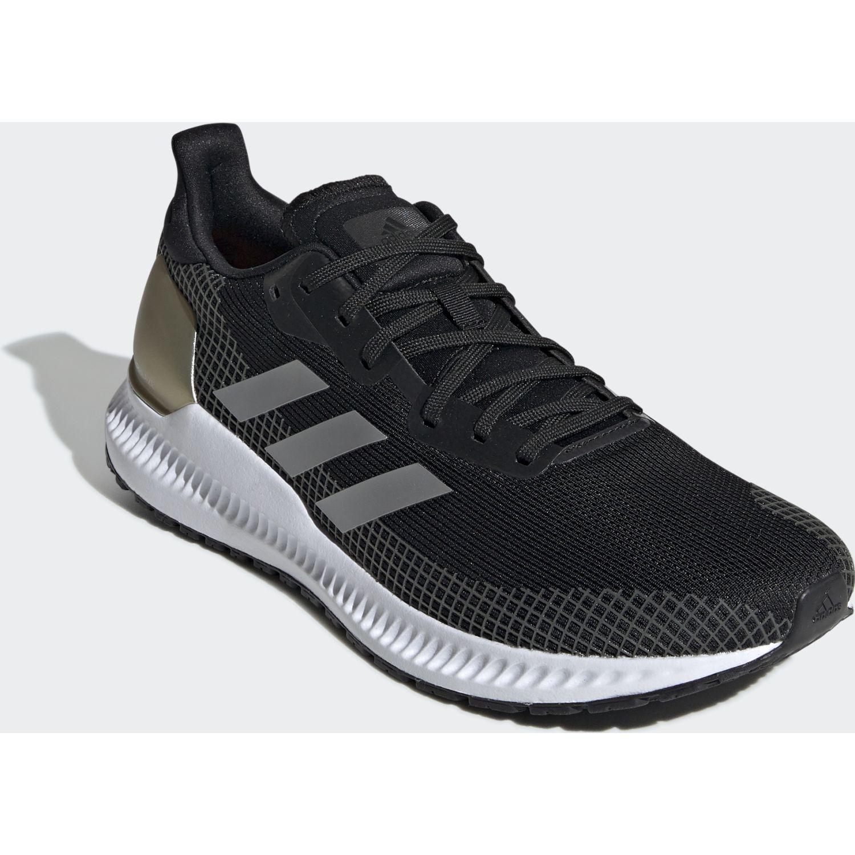 Adidas solar blaze m Negro / dorado Running en pista