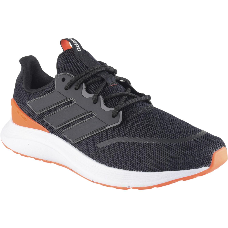 Adidas energyfalcon Negro / naranja Running en pista