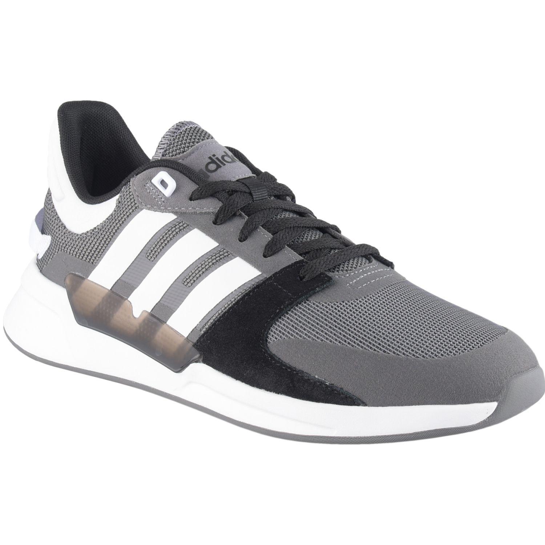 Adidas run90s Plomo / negro Running en pista