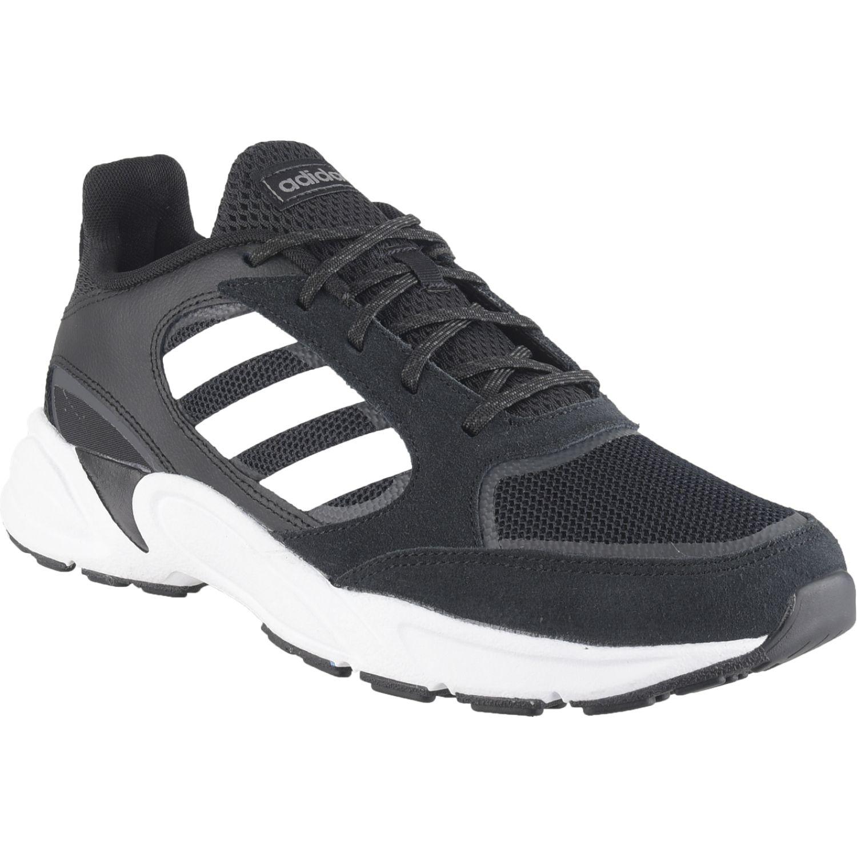 Adidas 90s valasion Negro / blanco Running en pista
