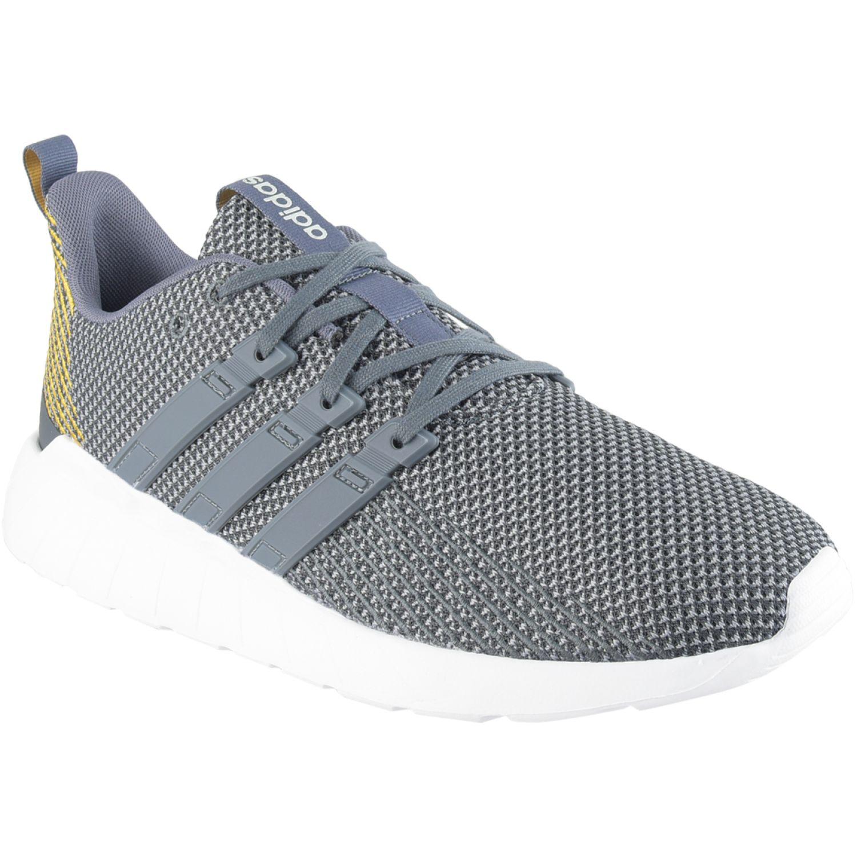 Adidas questar flow Plomo / amarillo Running en pista