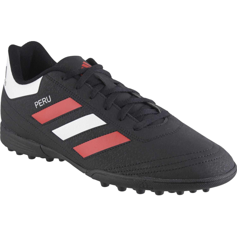 Adidas goletto vi tf Negro / rojo Hombres