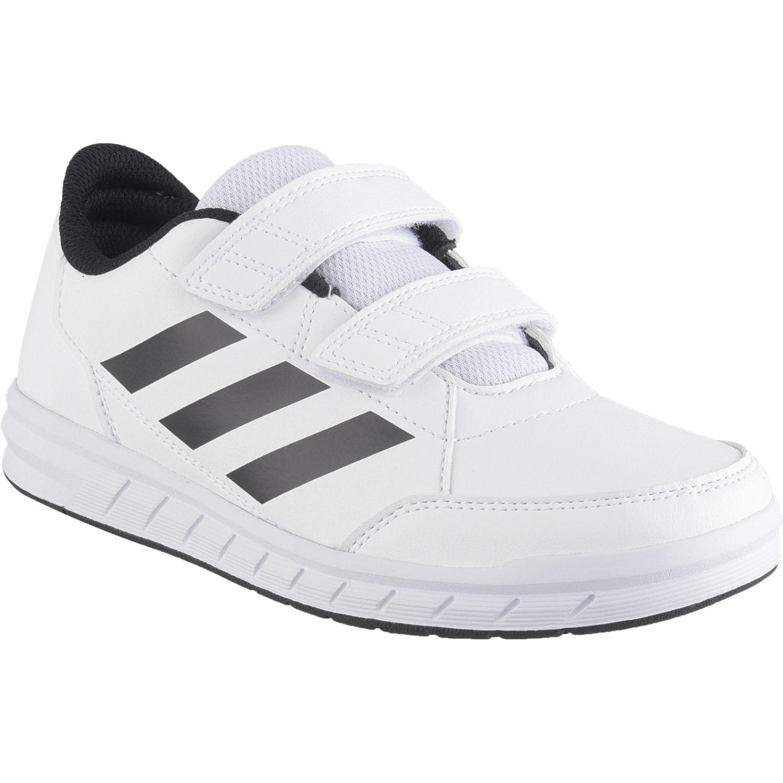 Adidas altasport cf k Blanco / negro Muchachos