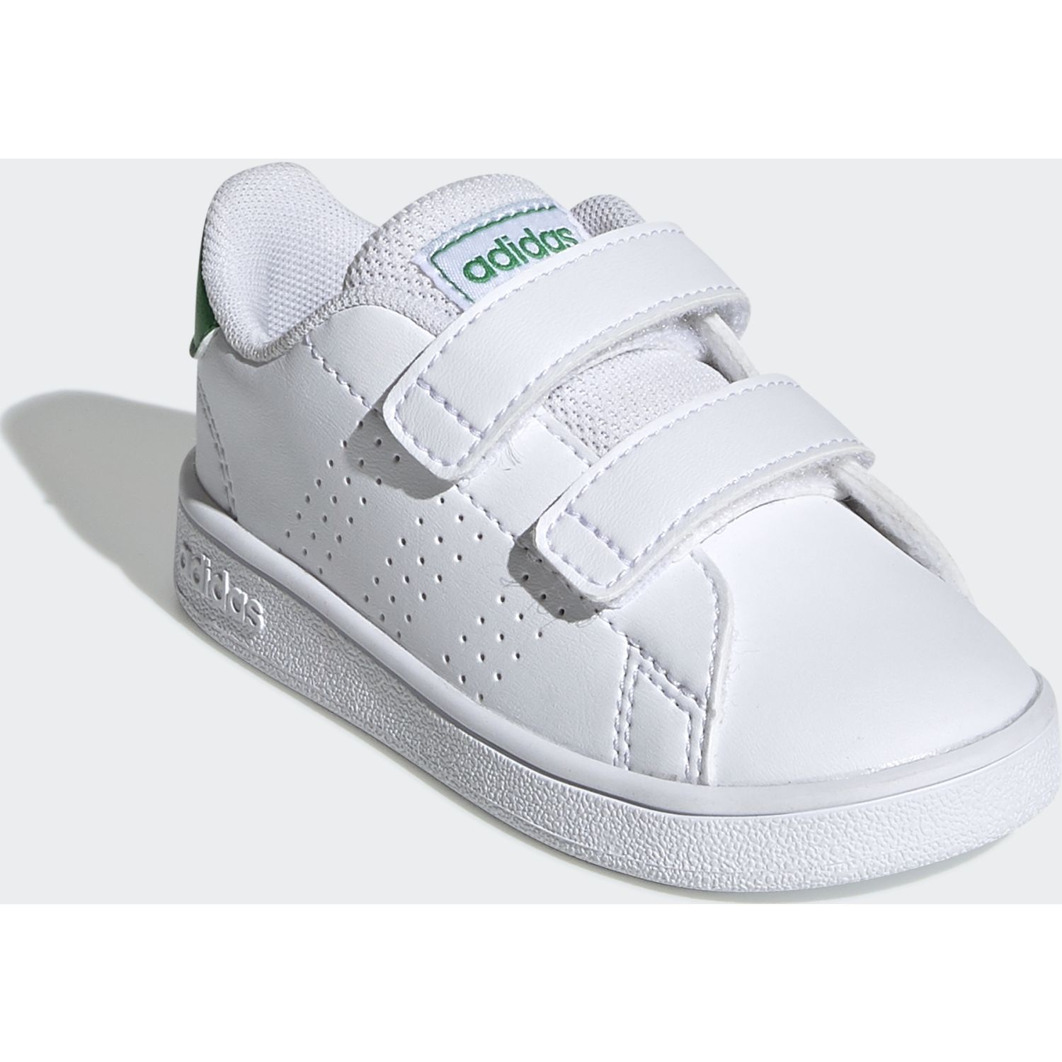 Adidas Advantage I Blanco / verde Walking