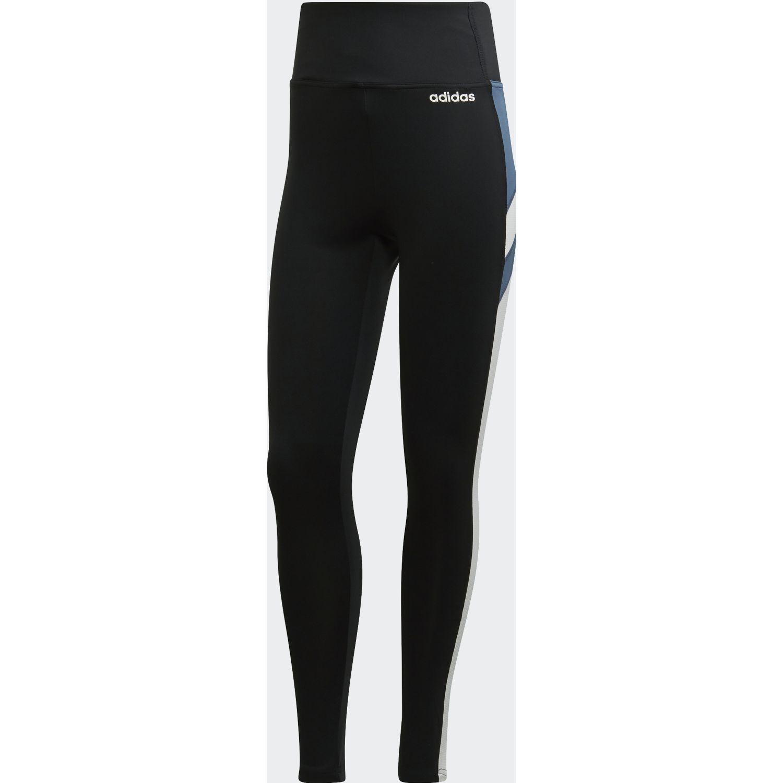 Adidas w em tight Negro / blanco Leggings Deportivos