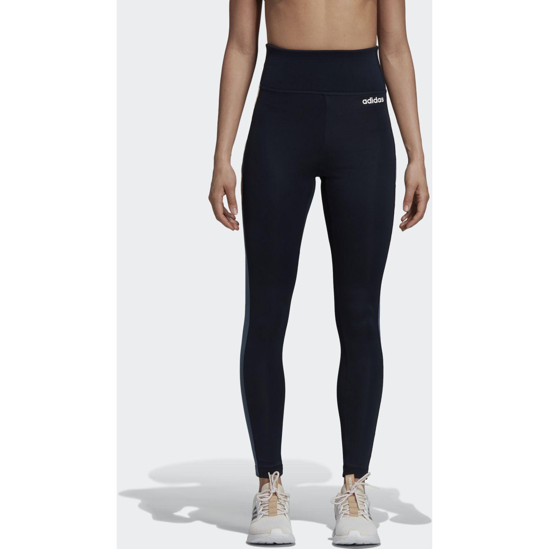 Adidas w em tight Azul / blanco Leggings Deportivos