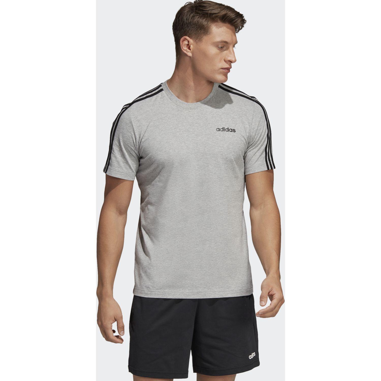 Adidas e 3s tee Gris / negro Camisetas y Polos Deportivos