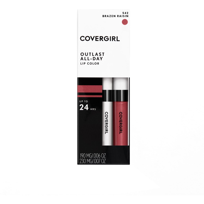 Covergirl labial outlast all-day lip colour BRAZEN RAISIN Lápiz labial