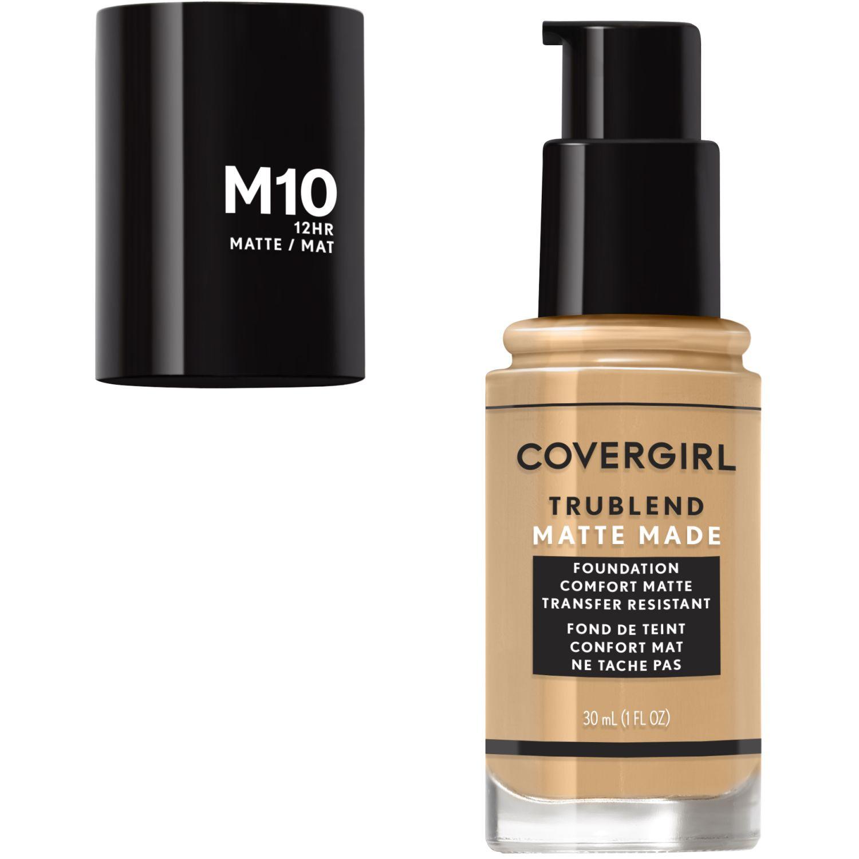 Covergirl Base TruBlend Matte Made Liquid Makeup GOLDEN NATURAL M10 Fundación