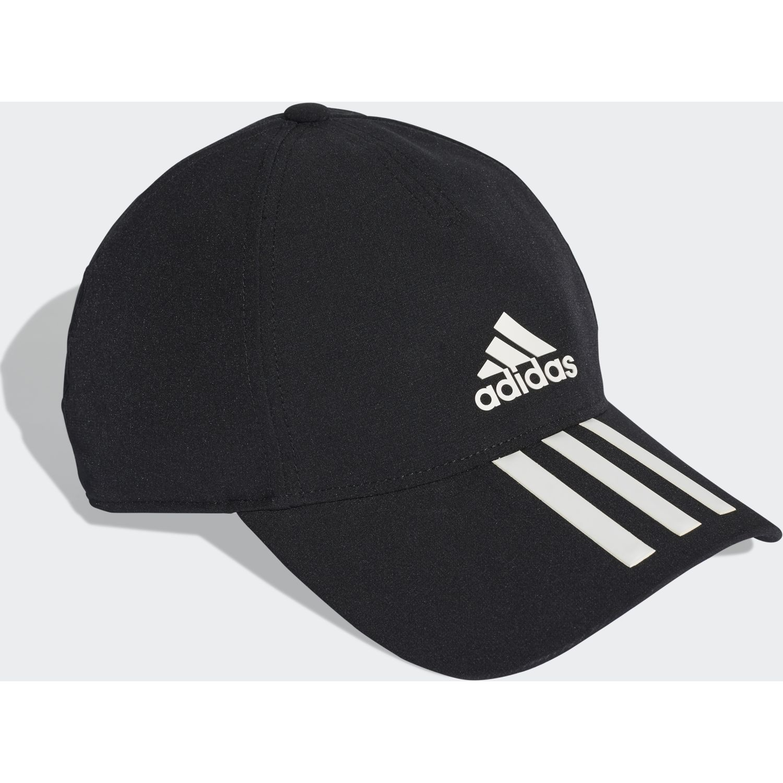 Adidas c40 6p 3s clmlt Negro / blanco Gorros de Baseball