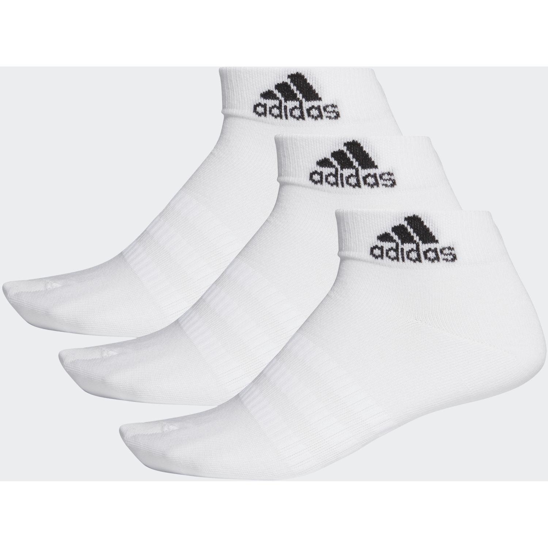 adidas Light Ank 3pp Blanco / negro Calcetines