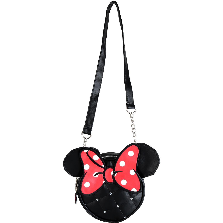 Minnie cartera niÑa minnie Negro / rojo mochilas