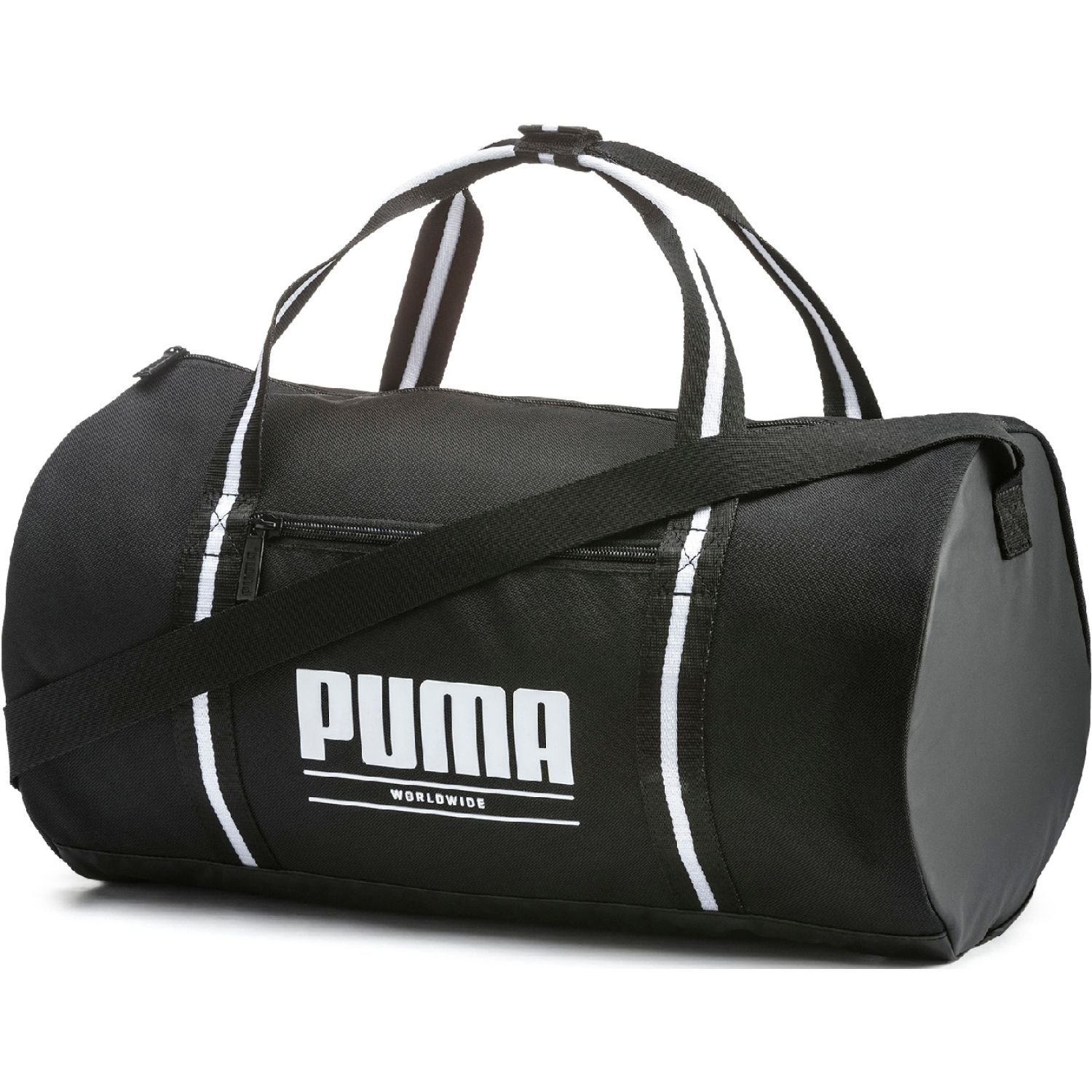 Puma WMN Core Base Barrel Bag Negro / blanco Duffels deportivos
