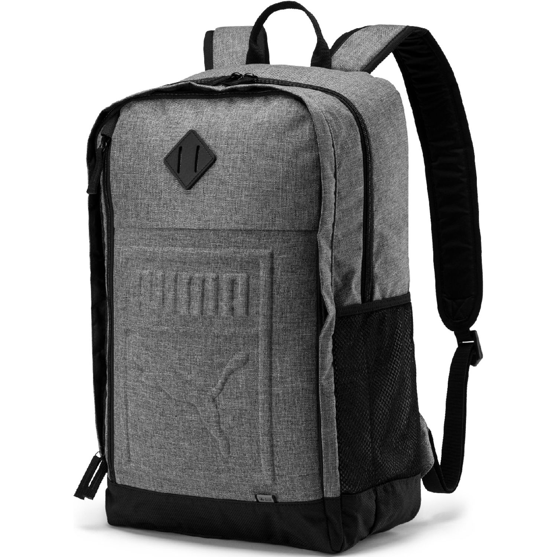 Puma Puma S Backpack Gris / negro Mochilas multipropósitos