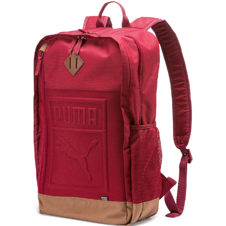 Puma PUMA S Backpack Rojo / marrón Mochilas Multipropósitos