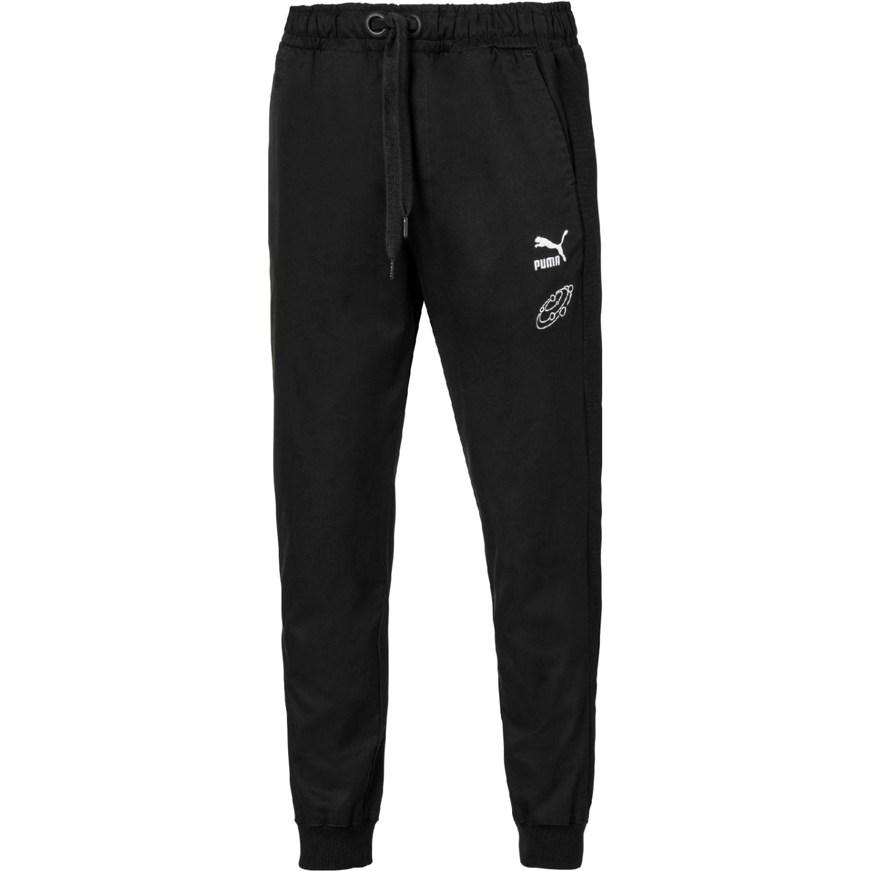 Puma puma x tyakasha track pants Negro / blanco Pantalones Deportivos