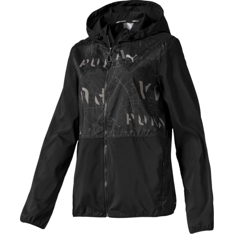 Puma Last Lap Hooded Jacket NEGRO / GRIS Impermeables y chaquetas