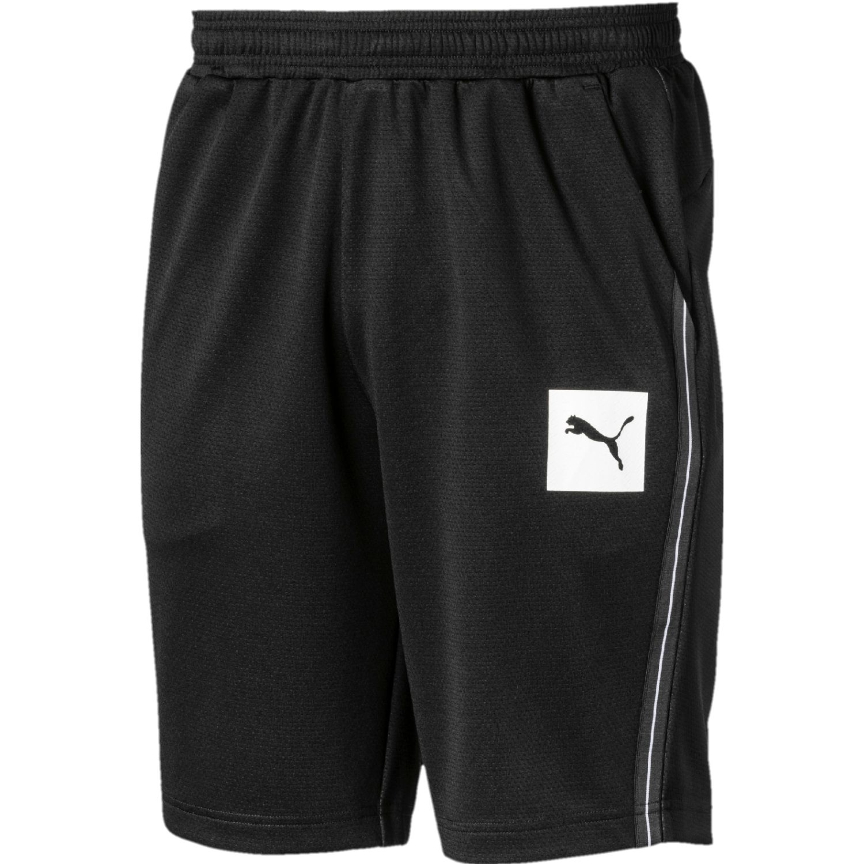 Puma tec sports interlock shorts Negro / blanco Shorts Deportivos