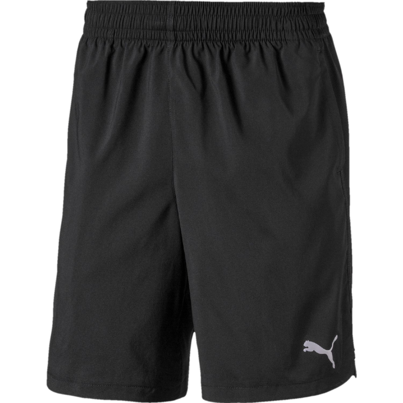 Puma puma woven short Negro / blanco Shorts Deportivos