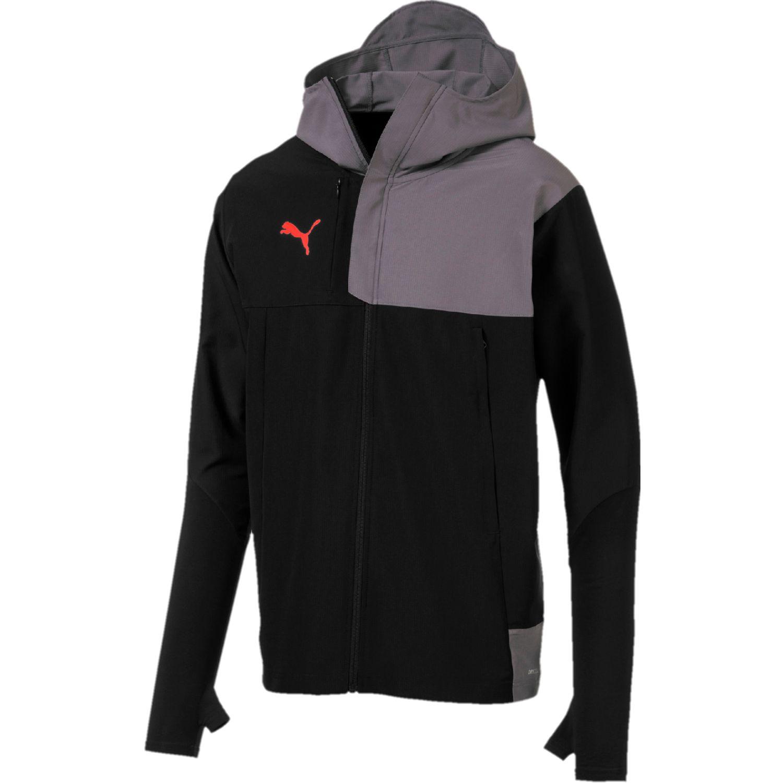 Puma ftblnxt pro jacket NEGRO / GRIS Trinchera y Lluvia