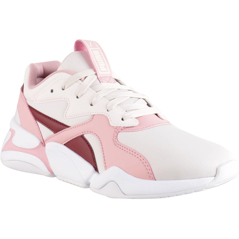 Puma nova wn's Blanco / rosado Walking