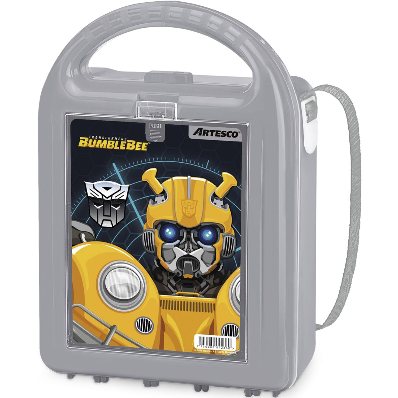 Transformers LONCHERA HASBRO NUTRIBOX C/TAPERS Gris Loncheras