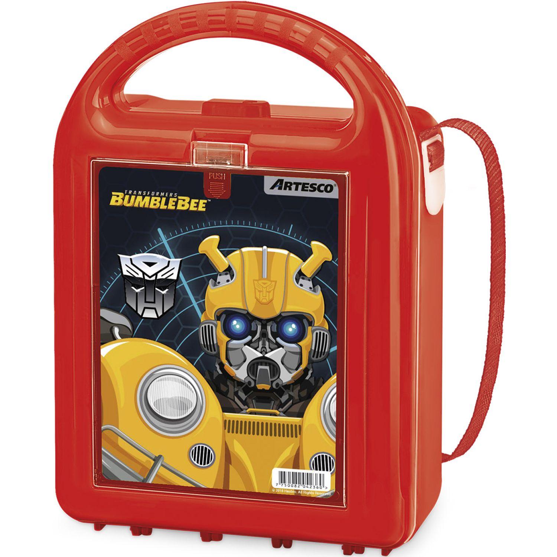 Transformers Lonchera Hasbro Nutribox C/Tapers Rojo Loncheras