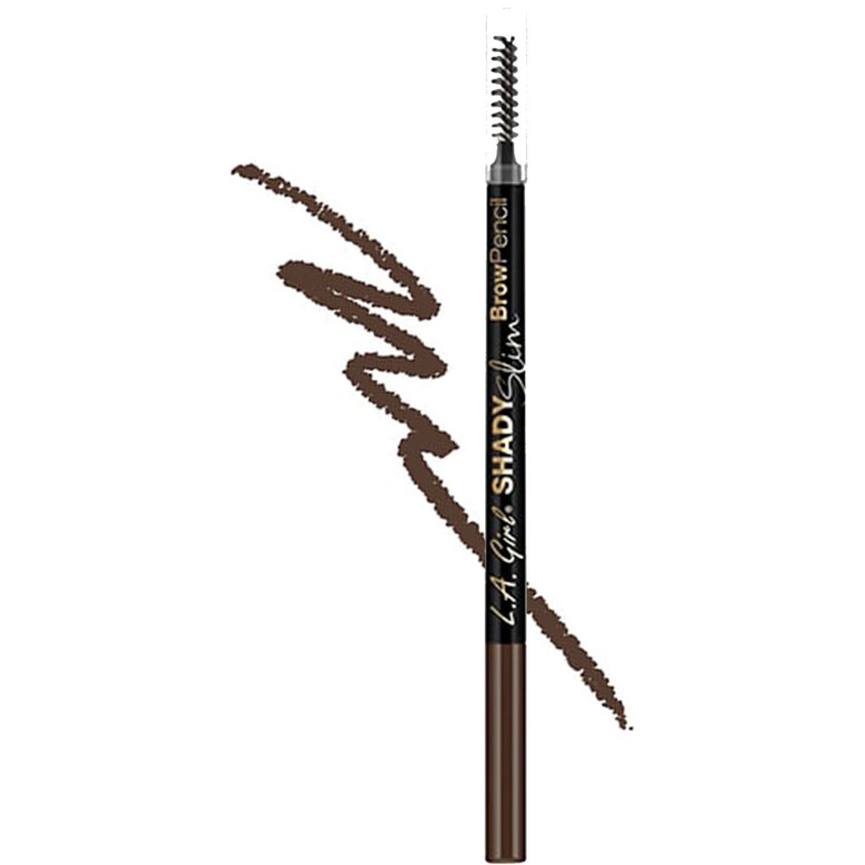 L.a. Girl Shady Slim Brow Pencil BRUNETTE Combinaciones de sombra y delineador