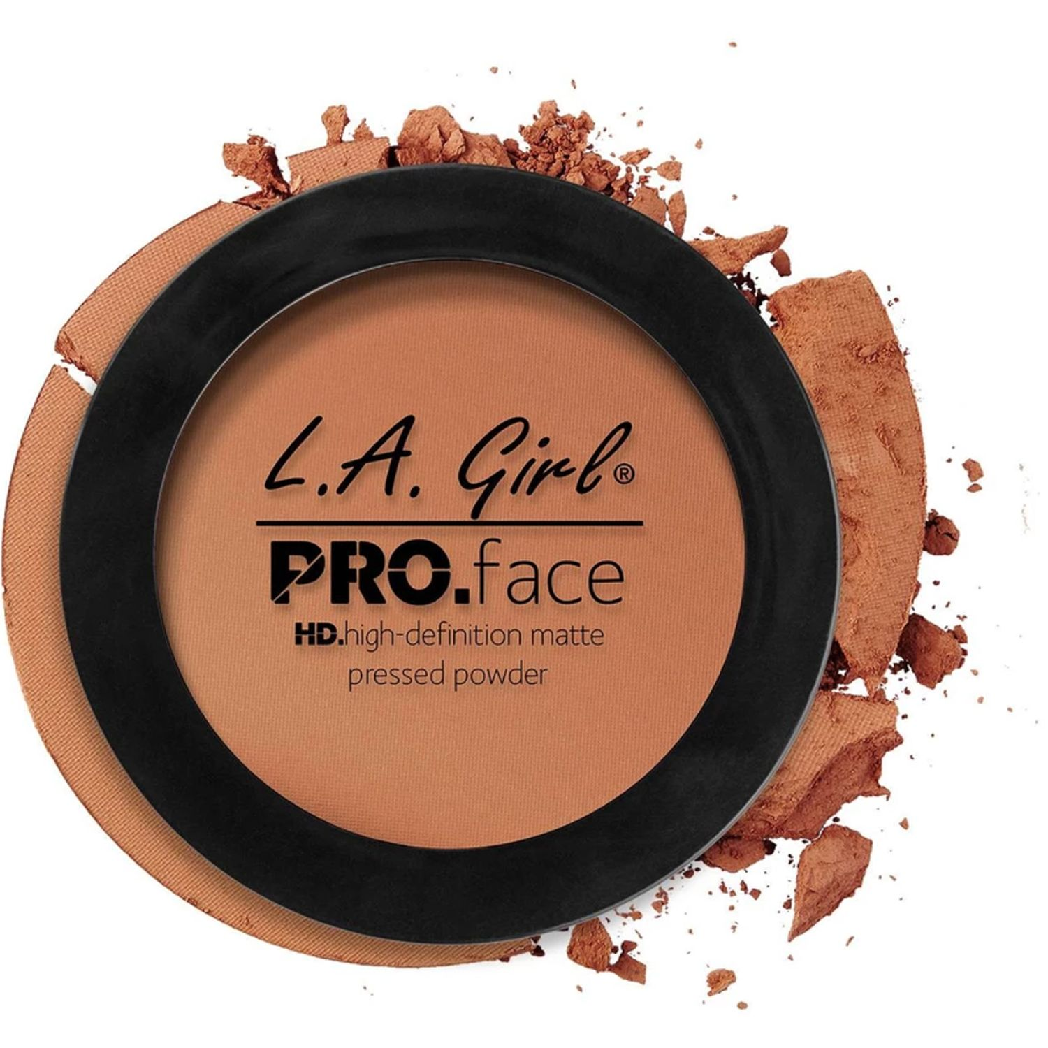L.a. Girl Pro Face Matte Pressed Powder CHESTNUT Correctores