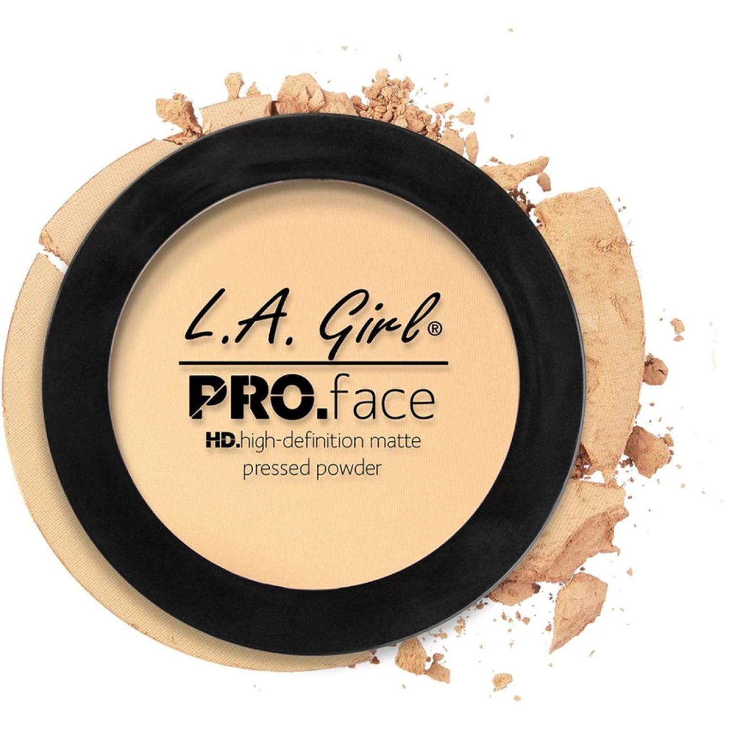 L.a. Girl Pro Face Matte Pressed Powder Classic Ivory Correctores