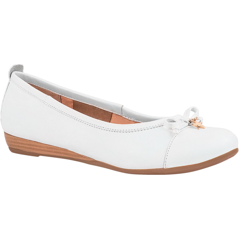 Ecco ciara01 Blanco Flats