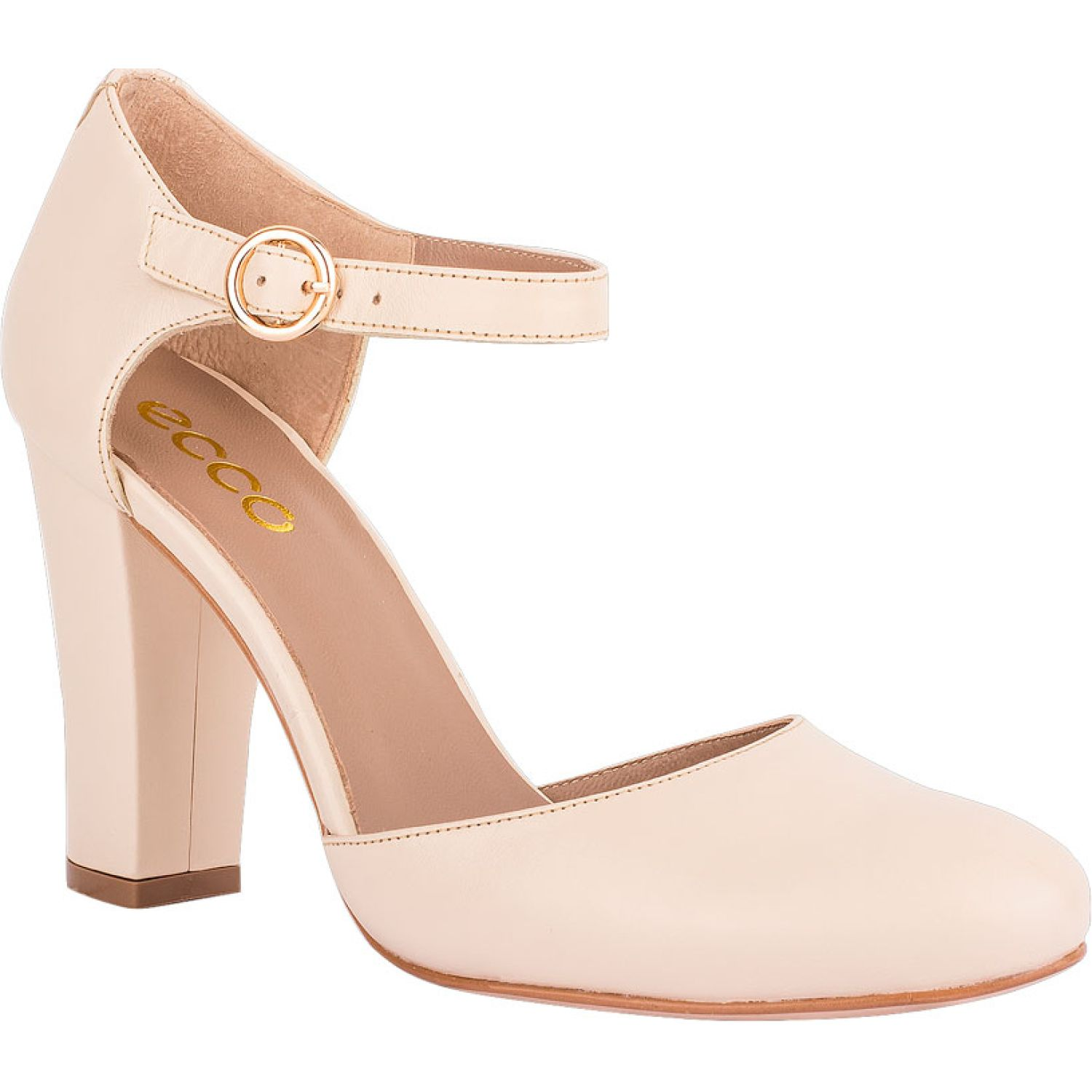 Ecco Cristel01 Marfil Estiletos y Pumps
