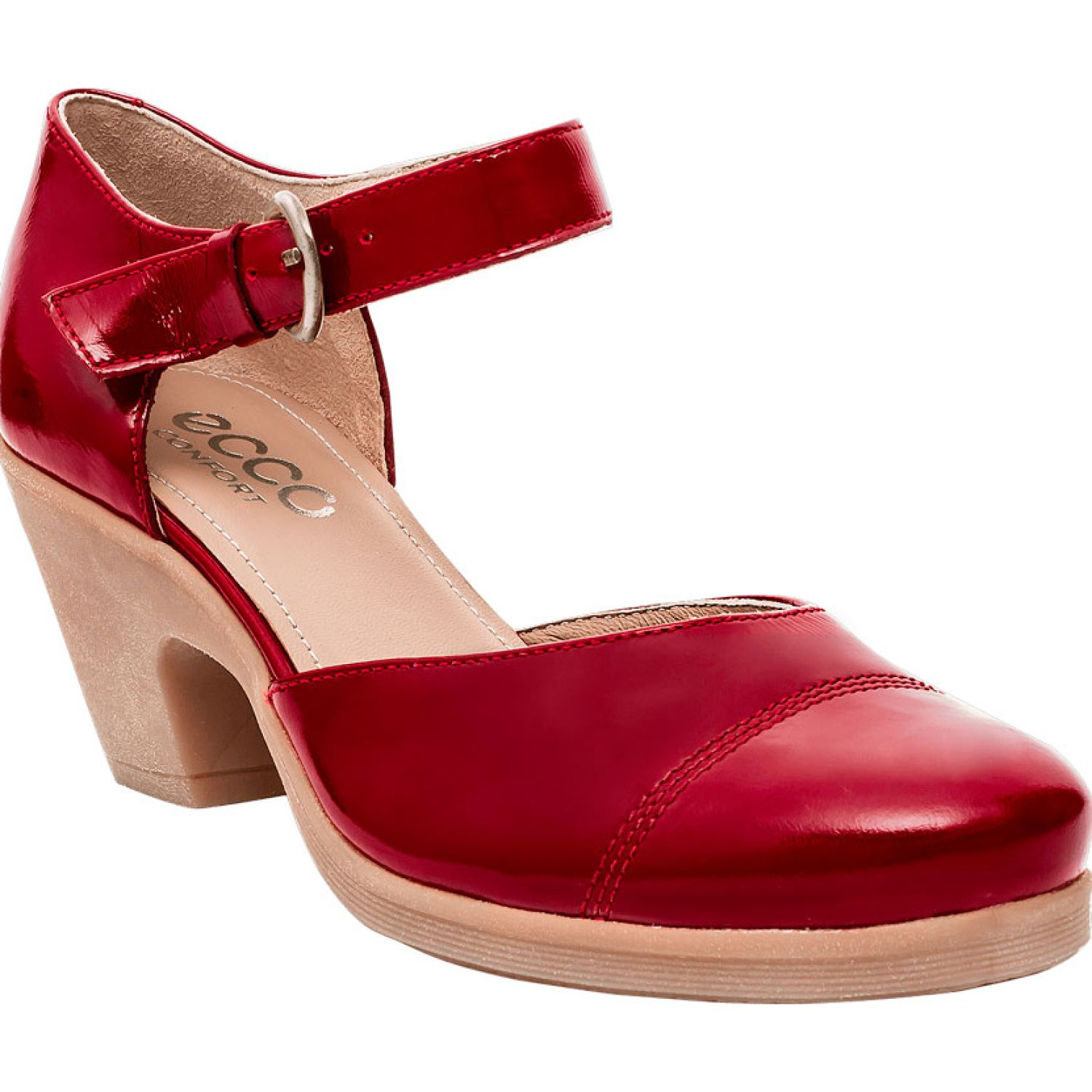 Ecco natalie42 Rojo Estiletos y Pumps