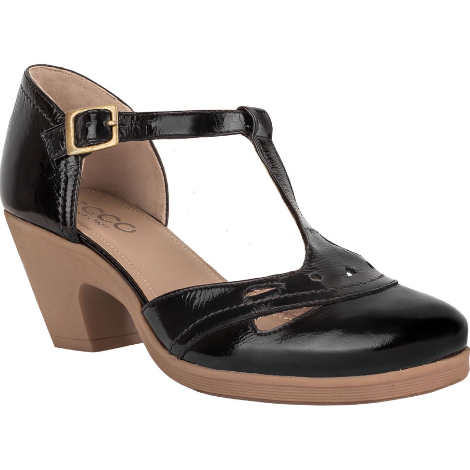 Ecco natalie45 Negro Estiletos y Pumps