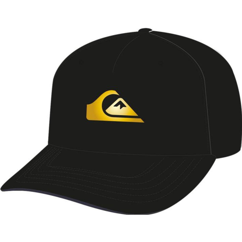 Quiksilver 50th gold snapb Negro / blanco Gorros de Baseball