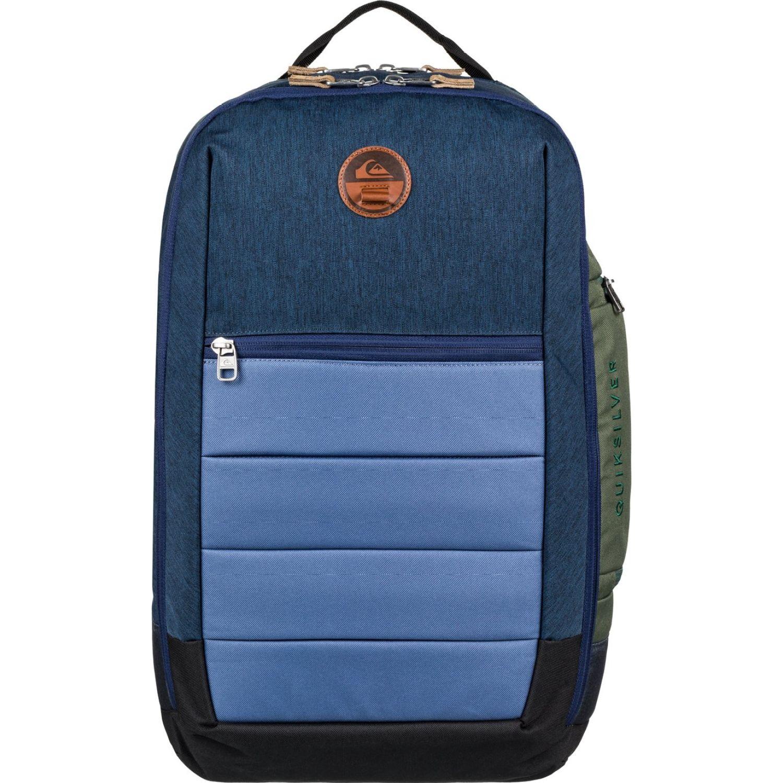 Quiksilver upshot plus Acero / azul mochilas