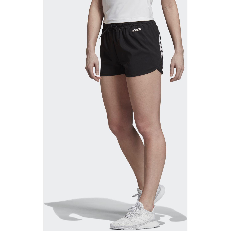 Adidas W D2m 3s W Shor Negro / blanco Shorts Deportivos
